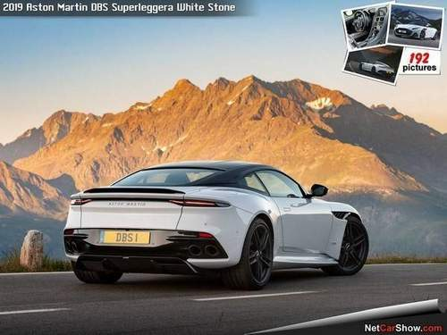 Aston Martin Dbs Superleggera Белый Камень (2019)