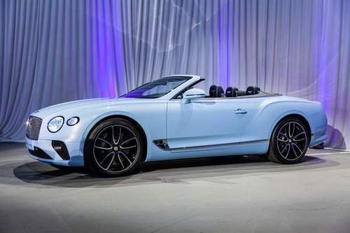 Bentley Continental Gt V8 Кабриолет (2020)