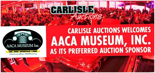 Carlisle Auctions и музей AACA, Inc.